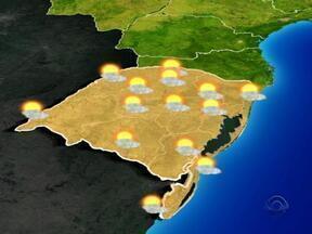 RS tem quinta-feira de tempo seco e temperaturas mais baixas - Há registro de nevoeiro em algumas regiões.