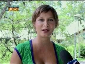Katiuscia Canoro fala sobre a volta à TV depois de ser mãe - Atriz conversa com o Vídeo Show sobre sua nova fase