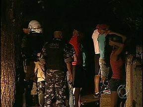 Polícia faz operação nos distritos rurais - PM reforçou a segurança depois da morte de um empresário em Guaravera na segunda-feira. Amanhã também tem provas do concurso para Bombeiro que tinham sido canceladas