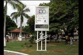 Relógio que marca centenário de Marabá é instalado em praça da cidade - Veja na reportagem.