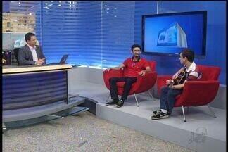 Baixa Gravidade se apresenta neste fim de semana no Crato - Banda conversa com Paulo Ernesto no CETV 1