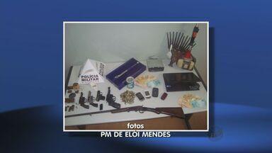 Suspeitos de tráfico são presos em Elói Mendes - Suspeitos de tráfico são presos em Elói Mendes
