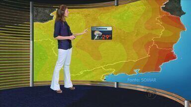 Confira a previsão do tempo no Sul de Minas - Confira a previsão do tempo no Sul de Minas