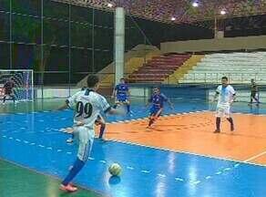 Times amadores são destaques na Copa TV Amazonas de Futsal - Times amadores são destaques na rodada da Copa TV Amazonas de Futsal.