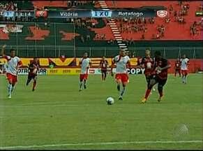 Vitória vence Botafogo na primeira partida pelo Campeonato Baiano 2013 - Inspirado, atacante Marcelo Nicácio marcou três gols para o Leão.