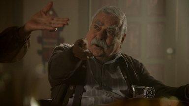 Tartan insinua para Cyla que o filho de Morena é de Mustafa - Cyla reclama de Morena com Zyah e Demir, e fica chocada quando Tartan diz que os dois estão trabalhando a mando de Mustafa