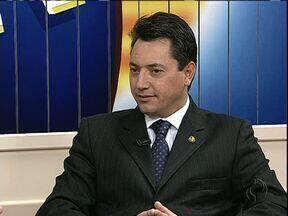 Votação final para criar TRF no Paraná pode ocorrer no mês que vem - A informação foi dada pelo senador Sérgio Souza em entrevista no Bom Dia Paraná.