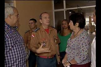 Hospital Ophir Loyola passou por vistoria do Corpo de Bombeiros - O objetivo era identificar se as instalações voltadas para o combate a incêndios eram adequadas.