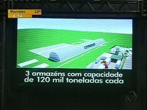 Cooperativas se unem e criam terminal coletivo no oeste do Paraná - Até 500 conteineres poderão ser armazenados no local.