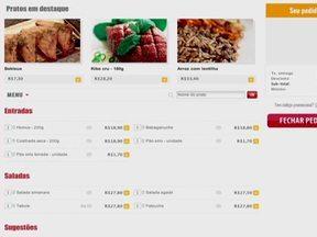 Empresa desenvolve site com mais de 1000 restaurantes com delivery em SP - O site reúne restaurantes e lanchonetes em São Paulo, Rio de Janeiro, Recife, Fortaleza e Salvador. O empresário investiu cerca de 250 mil reais e hoje possui bons lucros.