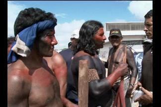 Depois de mais 12h, termina o protesto dos índios em Belo Monte - Depois de mais 12h, termina o protesto dos índios em Belo Monte