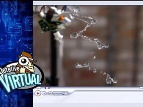 Detetive Virtual analisa vídeo que mostra água cair em espiral - Quem gravou o vídeo parecia ter um botão mágico: a água cai em círculos, o que cria o efeito de uma espiral congelada. O Detetive Virtual, do Fantástico, vai desvendar esse mistério, como ajuda da ciência e da tecnologia.