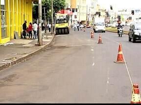 Água Viva reinicia obras na Avenida Guilherme Ferreira em Uberaba, MG - 1ª etapa da macrodrenagem tem início nesta segunda-feira (25). Trânsito será interditado entre as ruas Dr. Paulo Pontes e Floriano Peixoto.