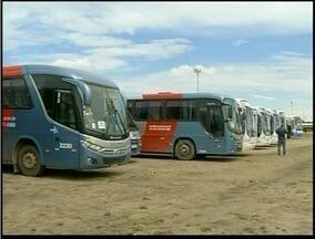 Quatorze veículos são apreendidos em São João da Barra em Operação do Detro - Apreensão foi feito na rodovia de acesso ao Porto do Açu.