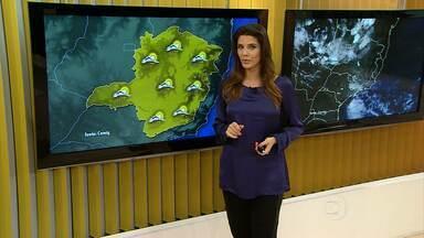 Tempo deve ser chuvoso nesta terça-feira na Grande BH - Veja previsão