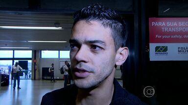 Josué chega em Belo Horizonte para se apresentar ao Atlético-MG - Volante chegou no dia em que Galo comemora 105 anos