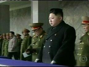Coreia do Norte volta a ameaçar Estados Unidos com ataques militares - A ditadura comunista da Coreia do Norte, um dos países mais pobres isolados do mundo, voltou a ameaçar os Estados Unidos com ataques militares. O porta-voz da Casa Branca disse que não passa de uma tentativa de intimidar.