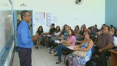 Voluntários recebem treinamento da Defesa Civil em Araraquara, SP - Voluntários recebem treinamento da Defesa Civil em Araraquara, SP