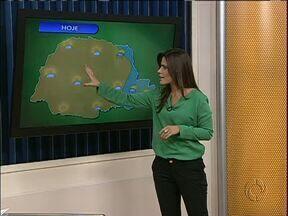 Previsão é de tempo aberto e temperaturas agradáveis para o Paraná - Tempo fica mais encoberto em Curitiba, litoral e parte do norte pioneiro