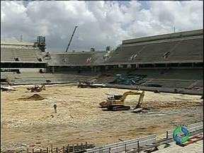 Redação Móvel mostra as obras da Arena da Baixada - A pouco mais de um ano para o início da Copa do Mundo, a Redação Móvel mostra como estão as principais obras na cidade, no estádio e também de mobilidade.