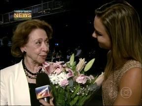 Vídeo Show News: premiação dos melhores trabalhos do teatro nacional em 2012 - Jaqueline Silva entrevista Fernanda Montenegro, que recebeu homenagem