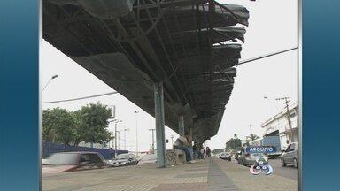 Prefeitura anuncia revitalização de plataformas do 'Expresso' , em Manaus - Secretário de Infraestrutura informou que 90% do projeto está pronto