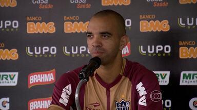 Diego Tardelli é uma das armas do Atlético-MG no jogo contra o Tupi - Globo mostra a partida neste domingo às 16h.