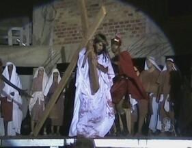 Mais de 200 atores vão participar da encenação do Auto da Paixão de Cristo em Ariquemes - Preparativos para o espetáculo agora correm contra o tempo. A primeira das três apresentações acontece nesta quinta-feira (28).
