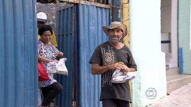 Distribuição de peixes na sexta-feira da Paixão vira tradição em Belo Horizonte - Comerciate promove ato solidário