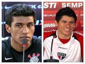 Corinthians e São Paulo se preparam para o clássico de domingo - Times devem ter força máxima para o jogo do Paulistão