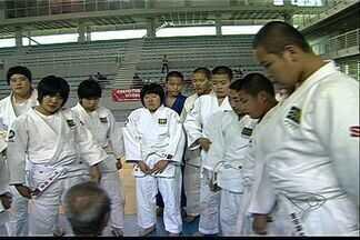 Equipe de judô vem do Japão para treinar com os capixabas - Os judocas japoneses ficam no Espírito Santo até segunda-feira