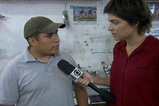 Thais Itaqui visita casa de boliviano que hoje tem sua própria oficina de costura - Repórter anda pela rua Coimbra, na região central de São Paulo e visita a casa de Gusmão, boliviano que vive no Brasil há dez anos e já foi vítima de trabalho escravo.