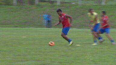 Fast treina para estreia na Copa do Brasil contra o CRB - Time amazonense estreia na Copa do Brasil nesta quarta-feira em jogo contra o CRB, de Alagoas, no estádio do Sesi, em Manaus.
