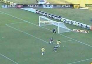 Veja os gols do jogo Caxias x Pelotas - O jogo aconteceu neste domingo (14).