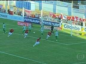 Inter goleia no Gauchão - O Internacional venceu o Juventude por 4 a 1. Em Pernambuco, o Santa Cruz empatou com o Sport por 2 a 2. Pelo Campeonato Cearense, o Ceará passou pelo Fortaleza por 1 a 0.