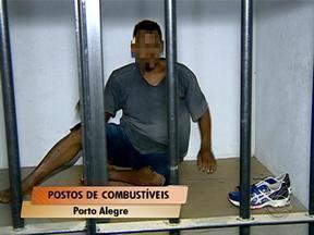 Duas pessoas são presas na Zona Leste de Porto Alegre - Dupla é suspeita de assaltar postos de combustíveis nas imediações da Avenida Ipiranga.