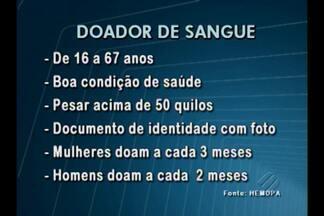 Hemopa leva unidade móvel até os doadores, em Belém - A procura pelo hemocentro caiu nas últimas semanas.