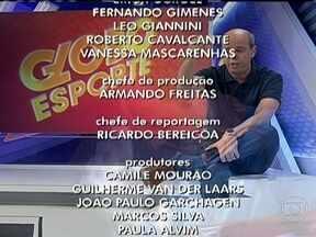 Globo Esporte Rio - terceiro bloco - 18/04/2013 - Globo Esporte Rio - terceiro bloco - 18/04/2013