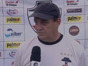 River-PI calibra pontaria para próximo clássico contra Flamengo-PI no Lindolfo Monteiro - Jogadores do River-PI fazem treino de finalizações para devolver derrota sofrida no primeiro turno do Campeonato Piauiense. Clássico será às 17h