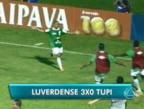Pressão por resultado parece ter empolgado o Luverdense - O time atacou do início e fim no jogo desta quarta-feira e conseguiu a classificação inédita para a próxima fase da Copa do Brasil.
