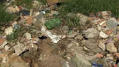 Moradores de Contagem reclamam de pontos de bota-fora na cidade - Lixo espalhado atrai bichos e aumenta o risco de doenças.
