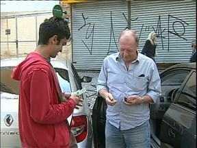 Vereadores podem proibir flanelinhas na ruas de Curitiba - O assunto ainda deve ser votado na Câmara Municipal.