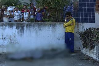 Vigilante morre em suposta tentativa de assalto aos correios, em Ribeirópolis, SE - Crime aconteceu em uma das ruas mais movimentadas da cidade.