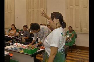 Professores participam em Belém do Projeto Florestabilidade da Fundação Roberto Marinho - Eles aprendem a despertar nos estudantes a vontade de preservar a floresta.