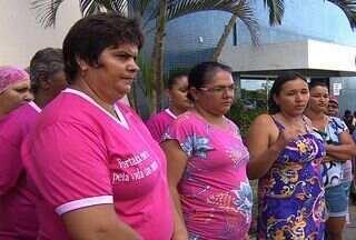Pacientes vêm do interior, mas não conseguem tratar câncer, em Aracaju - Faltam medicamentos, além do principal aparelho para o tratamento.