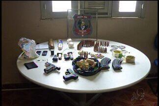 Ação da polícia evita assalto a Correios no Cariri - Homens foram presos com armas.