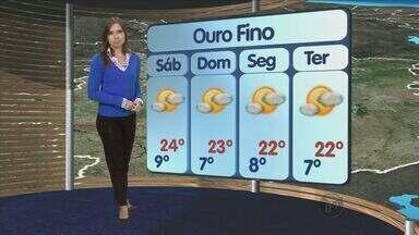 Confira a previsão do tempo no Sul de Minas - Confira a previsão do tempo no Sul de Minas para essa sexta-feira (19)