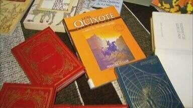 Exposição itinerante sobre Dom Quixote está em Carmo do Rio Claro - Exposição itinerante sobre Dom Quixote está em Carmo do Rio Claro