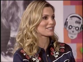 Flávia Alessandra conta que Otaviano Costa ajuda com filhas - Atriz relembra papéis na televisão e comenta sobre sua personagem Érica