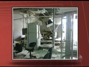 Criminosos usam bombas para explodir caixas eletrônicos em Canápolis - Ação ocorreu em agência do Banco do Brasil